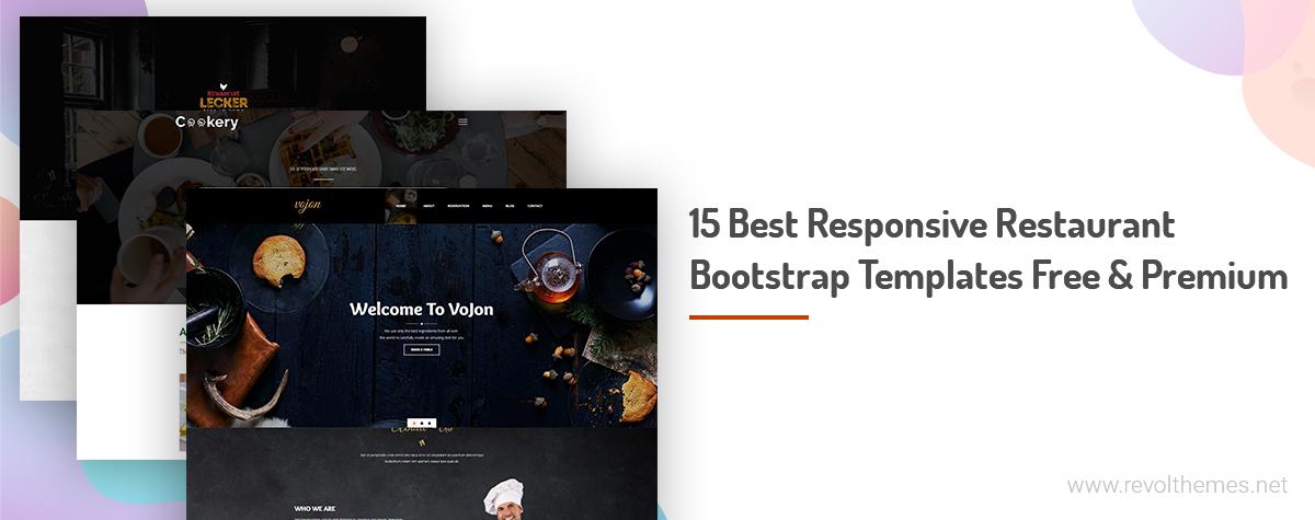 15 best responsive restaurant bootstrap templates free premium